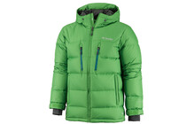 Columbia Men&#039;s Alaskan II Down Hooded Jacket fuse green